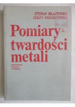Pomiary twardości metali
