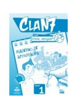 Clan 7 con Hola amigos 1 ćwiczenia