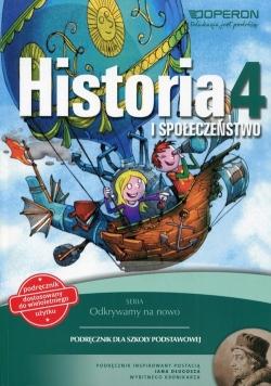 Odkrywamy na nowo Historia i społeczeństwo 4 Podręcznik wieloletni