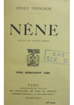 Nene , 1920 r.