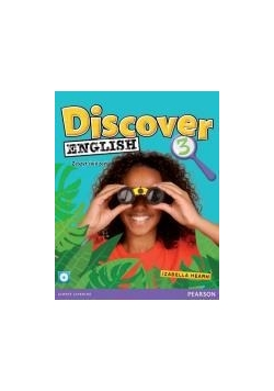 Discover English 3 WB +CD PEARSON,nowa