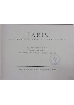 Paris Wanderung Durch ein Stand, 1942 r.