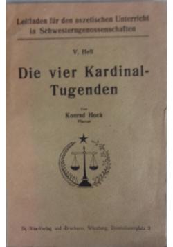 Die vier Kardinal - Tugenden, 1925 r.