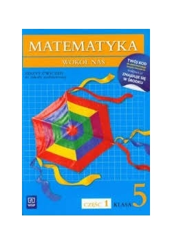 Matematyka Wokół nas SP 5,NOWA