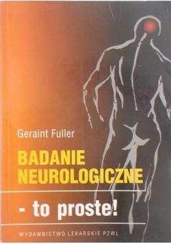 Badania neurologiczne - to proste!
