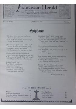 Franciscan Herald, 12 egzemplarzy ,1930 r.