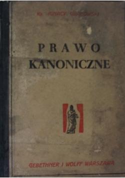 Prawo kanoniczne, wydanie czwarte, 1948 r.