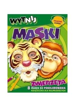 Zwierzęta: Wytnij maski