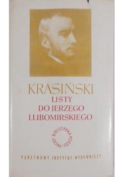 Listy do Jerzego Lubomirskiego