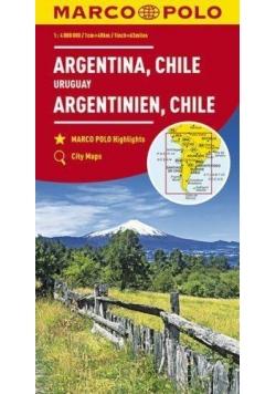 Mapy kontynentalne Argentyna...1:4 mil. MARCO POLO