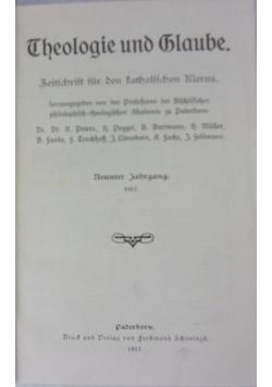 Theologie und glaube 9, 1917 r.