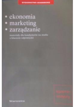 Ekonomia, marketing, zarządzanie
