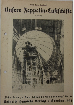 Unsere Zeppelin luftschiff, 1941 r.
