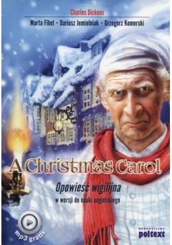 A.Christmas Carol Opowieść wigilijna + MP3