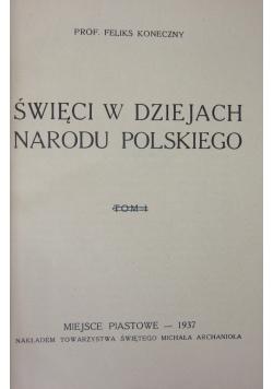 Święci w dziejach narodu polskiego, 1937r.