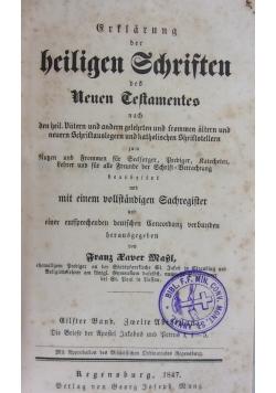 Srflarun der beiligen Sdjriften 1847 r.