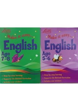 Make it easy English - zestaw 2 ksiażek