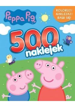 Świnka Peppa. 500 naklejek