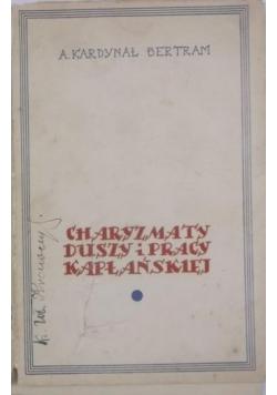 Charyzmaty duszy i pracy kapłańskiej, 1936 r.