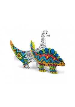 Kolorowanka 3D Dinozaury