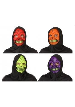 Maska Głowa szkieletora, różne rodzaje