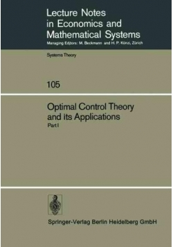 Optimal control theory and it's applications