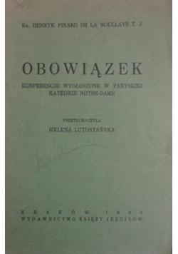 Obowiązek ,1930r.