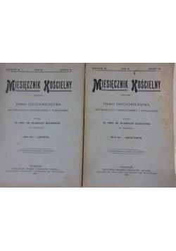 Miesięcznik Kościelny ,Tom VI PAZDZIERNIK ,LISTOPAD ,1911R.