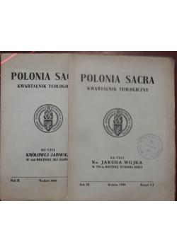 Polonia sacra, kwartalnik teologiczny, 2 książki