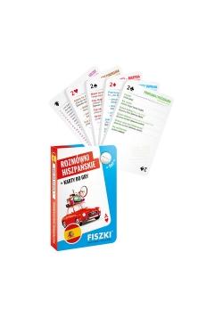 Rozmówki hiszpańskie i karty do gry 2w1