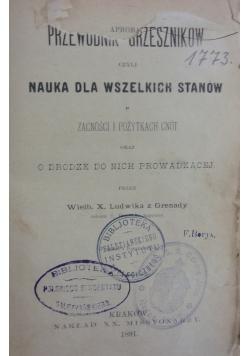 Nauka dla wszelkich stanów, 1891r.