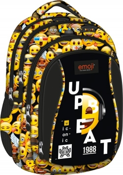 Plecak 4-komorowy BP4 Emoji Yellow