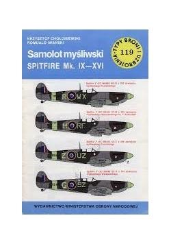 Samolot myśliwski spitfire mk. IX - XVI