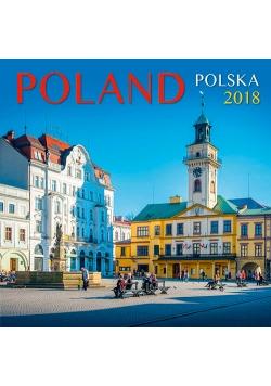 Kalendarz 2018 zeszytowy Poland