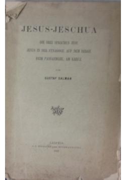 Jesus-Jesucha, 1922r.