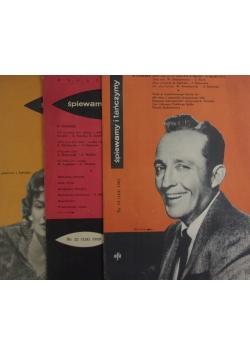 Śpiewamy i tańczymy, Nr 13 - 1961 r.,  Nr 22 1959 r., Nr 7 - 1958 r.
