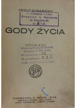 Gody Życia, 1925 r.