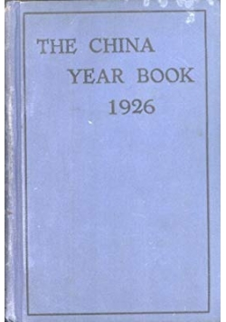 The China Year Book, 1926r.
