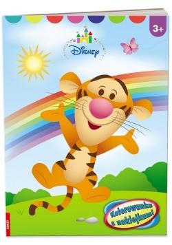 Disney Maluch. Kolorowanka z naklejkami
