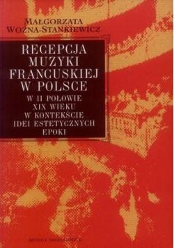 Recepcja muzyki francuskiej w Polsce