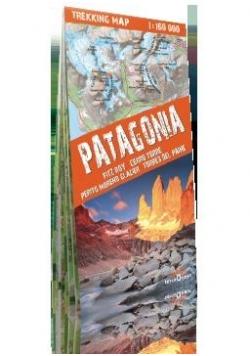 Trekking map Patagonia 1: 160 000 mapa
