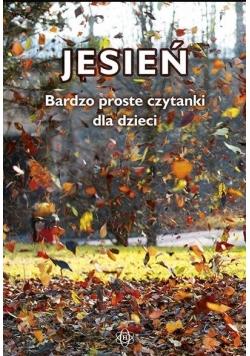 Jesień. Bardzo proste czytanki dla dzieci