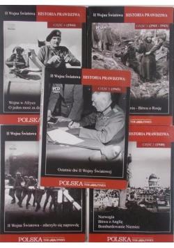 II wojna światowa historia prawdziwa, część 1-5 DVD
