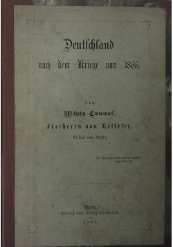 Deutschland nach dem Kriege von 1866. 1867 r.