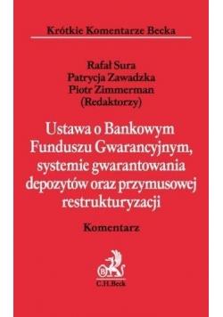 Ustawa o Bankowym Funduszu Gwarancyjnym, systemie
