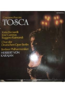 Giacomo Puccini Tosca, winyl