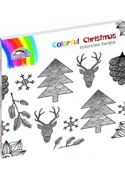 Książka do kolorowania Christmas FIORELLO