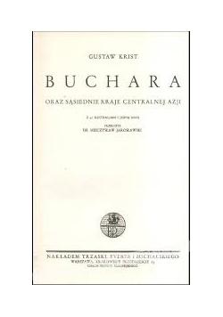 Buchara oraz sąsiednie kraje centralnej Azji, tom 19, 1930 r.