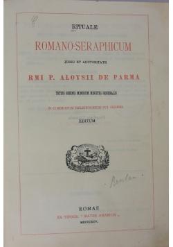 Rituale Romano-Seraphicum, 1895 r.