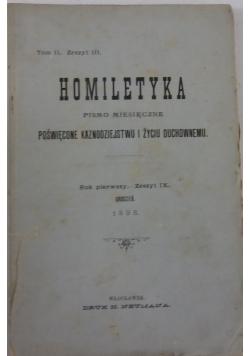 Homiletyka 9/1898